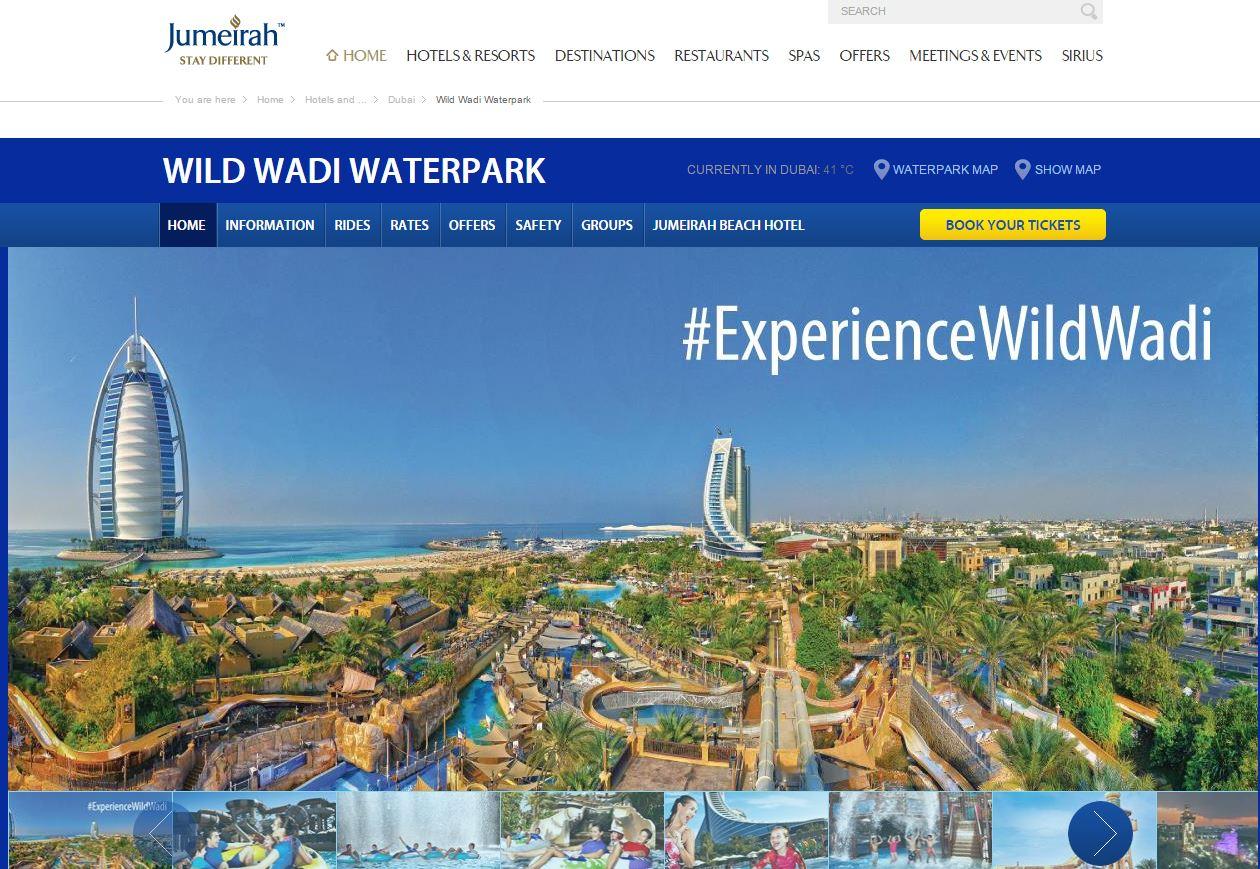 fonte: http://www.jumeirah.com/en/hotels-resorts/dubai/wild-wadi/